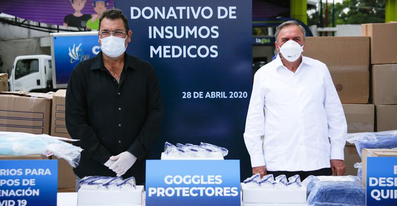 Grupo Ges entrega equipo médico